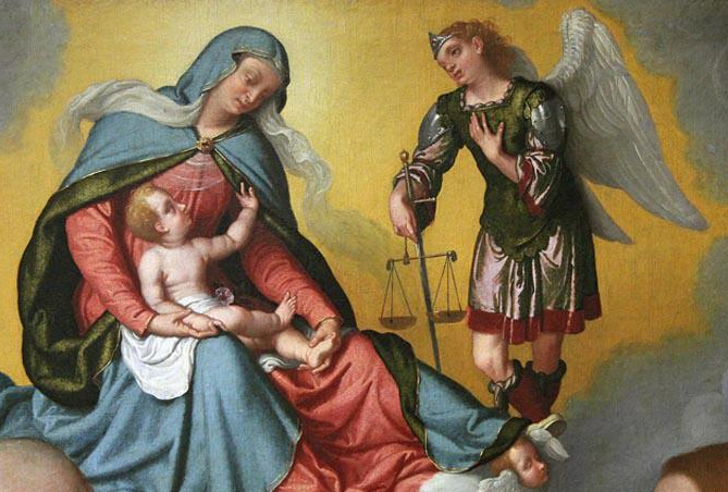 Miguel e Nossa Senhora dos Anjos